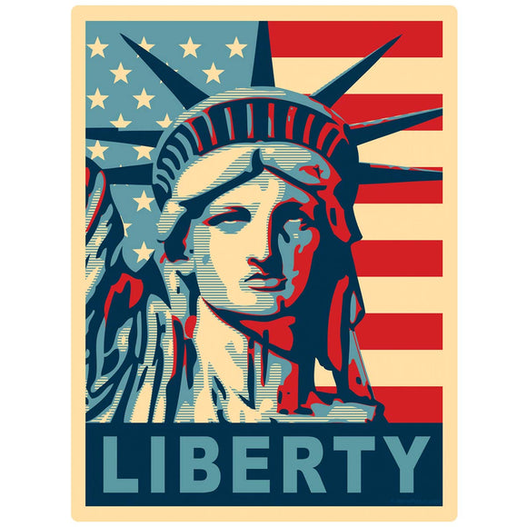Statue of Liberty Hope Style Decal