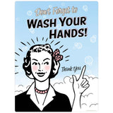 Wash Your Hands Bathroom Decal