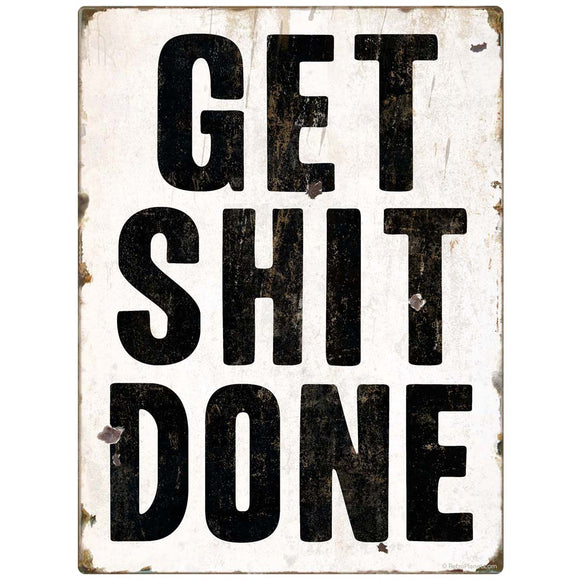 Get Shit Done Motivational Decal