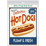 Delicious Hot Dogs Decal