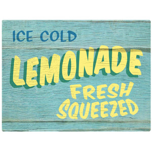 Lemonade Fresh Squeezed Rustic Decal
