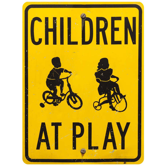 Children at Play Decal