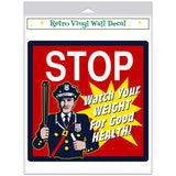 Stop Cop Weight Loss Decal