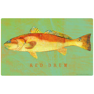 Red Drum Game Fish Decal