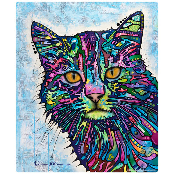 Diligent Cat Pop Art Decal