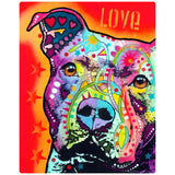 Thoughtful Pit Bull Dog Decal