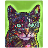 Watchful Shorthair Cat Decal