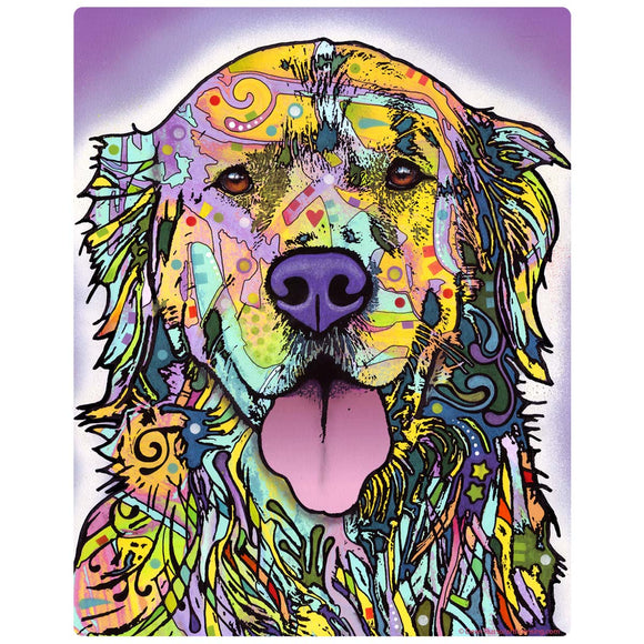 Golden Retriever Dog Decal