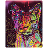 Abyssinian Cat Pop Art Decal