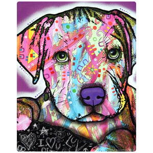 Baby Pit Bull Dog Puppy Decal