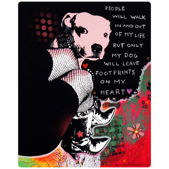 Girls Best Friend Pit Bull Dog Sticker
