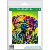 Hey Bulldog Pop Art Sticker