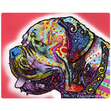 Mastiff Dog Pop Art Sticker