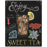 Sweet Iced Tea Chalkboard Look Decal