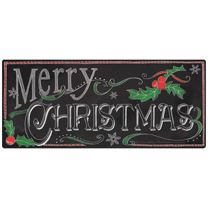 Merry Christmas Chalk Look Sticker