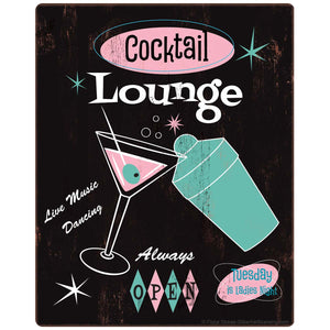 Cocktail Lounge 1950s Style Sticker