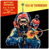 Man Of Tomorrow Astronaut Toy Decal
