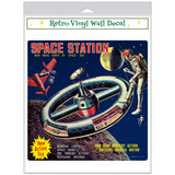 Space Station Toy Advertisement Decal