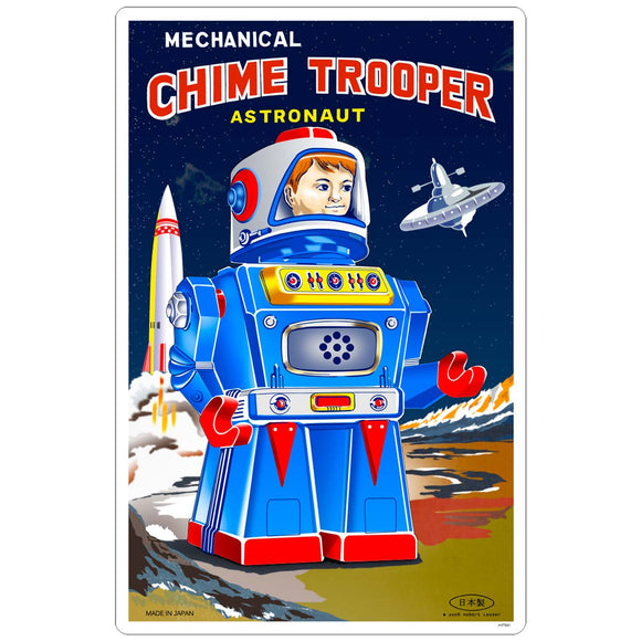 Chime Trooper Toy Robot Sticker