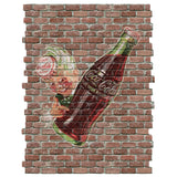 Coca-Cola Sprite Boy Faux Brick Decal