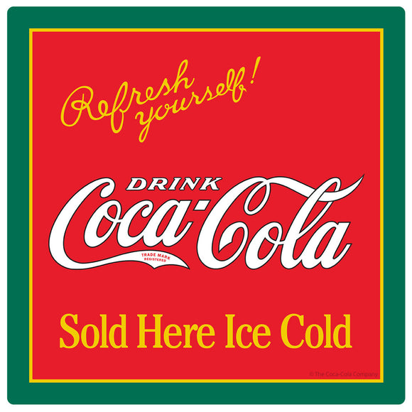 Drink Coca-Cola Refresh Yourself Sticker
