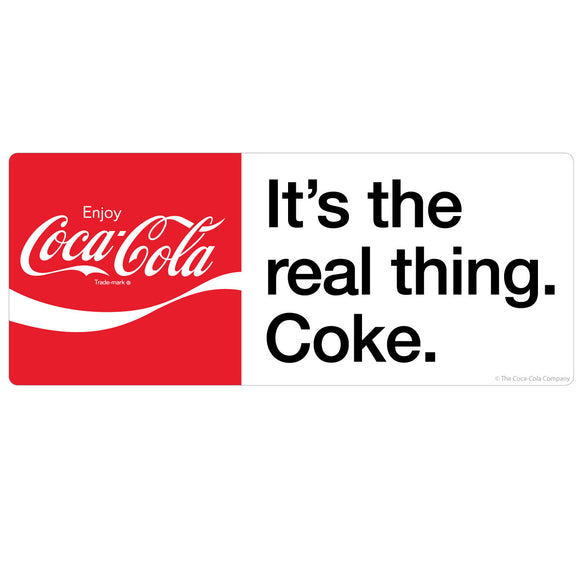 Coca-Cola Its the Real Thing Coke Sticker