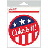 Coke Is It Patriotic Sticker