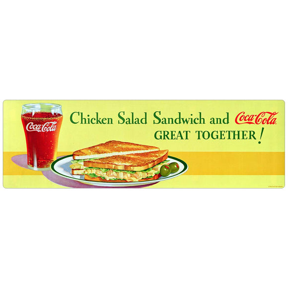 Coca-Cola Chicken Salad Sandwich Decal
