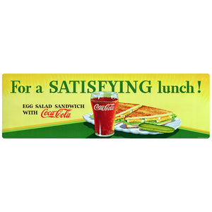 Coca-Cola Satisfying Lunch Decal