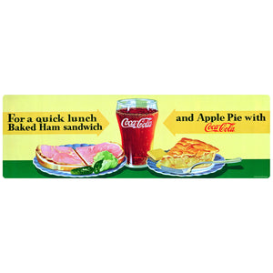 Coca-Cola Quick Lunch Ham Sandwich Decal