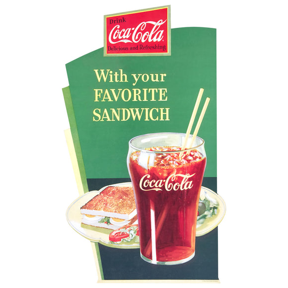 Coca-Cola With Your Favorite Sandwich Decal