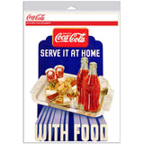 Coca-Cola At Home with Food Decal