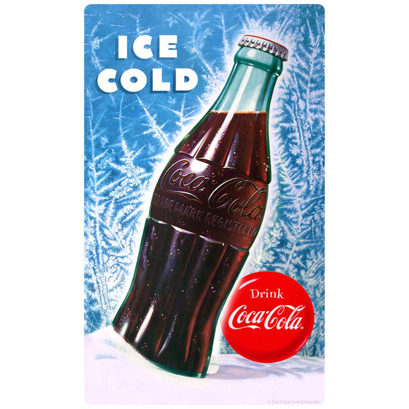 Coca-Cola Bottle Ice Cold Decal