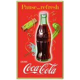 Coca-Cola Pause Refresh Party Noisemakers Decal