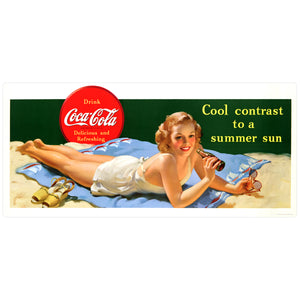 Coca-Cola Sun Bather Cool Contrast Decal
