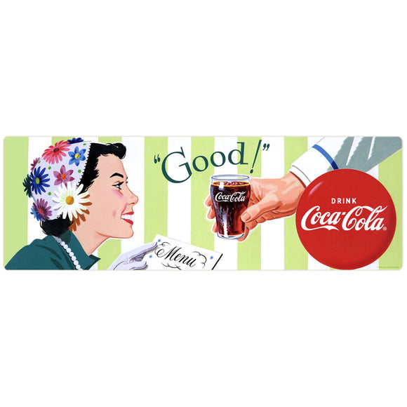 Coca-Cola Good Soda Fountain Decal
