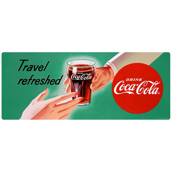 Drink Coca-Cola Travel Refreshed Decal