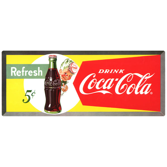 Coca-Cola Refresh Sprite Boy Decal