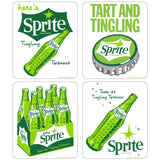 Sprite 1960s Style Vinyl Sticker Set of 4