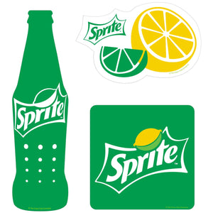 Sprite Contemporary Style Vinyl Sticker Set of 3