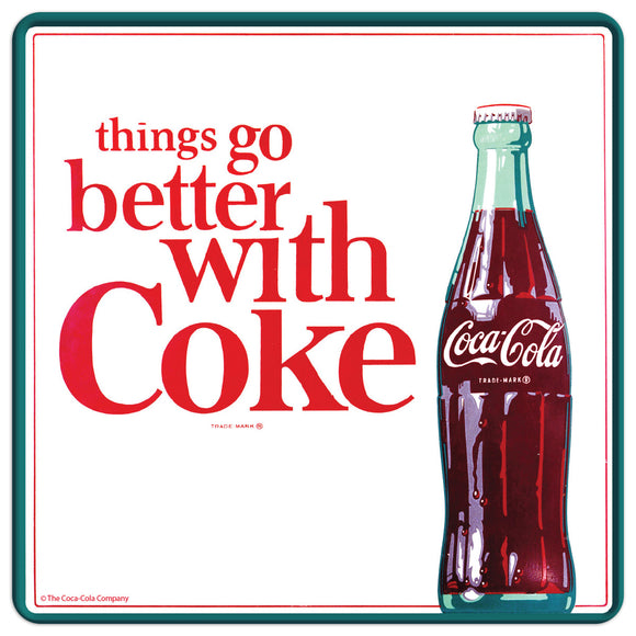 Things Go Better with Coca-Cola 60s Style Mini Vinyl Stickers 20 ct