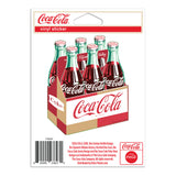 Coca-Cola Bottles Six Pack Carton Mini Vinyl Stickers 20 ct