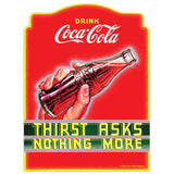 Coca-Cola Thirst Asks Nothing More Mini Vinyl Stickers 20 ct