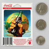 Coca-Cola Bottle In Hand Best Soda On Earth Mini Vinyl Stickers 20 ct