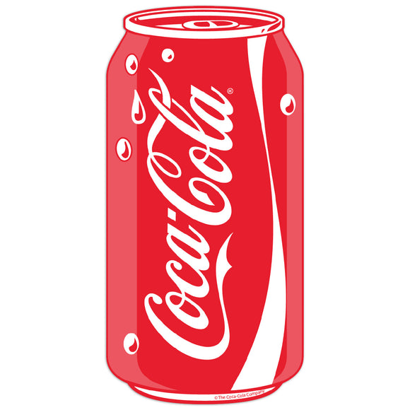 Coca-Cola Can Pop Art Mini Vinyl Stickers 20 ct