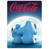 Coca-Cola Moonlight Bears Mini Vinyl Stickers 20 ct