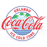 Coca-Cola Orlando FL Ice Cold Mini Vinyl Stickers 20 ct