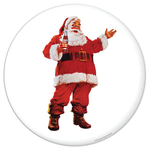 Coca-Cola Santa Disc Mini Vinyl Stickers 20 ct