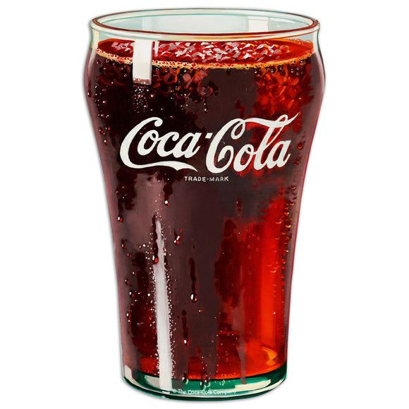 Coca-Cola Bell Glass Mini Vinyl Stickers 20 ct