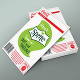 Here Is Sprite Taste It Mini Vinyl Stickers 20 ct